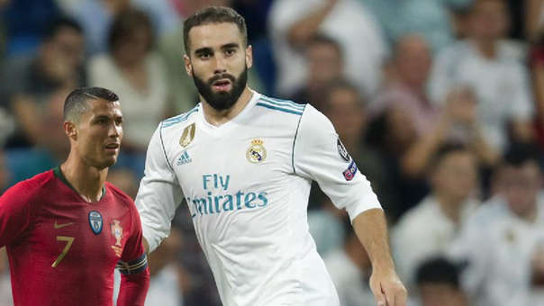 Dani Carvajal ha ganado cuatro Champions League con el Real Madrid al igual que Cristiano Ronaldo.