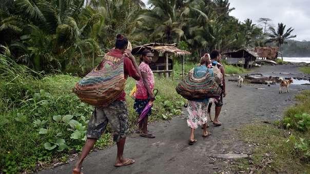 Mujeres en Papua Nueva Guinea (referencial)