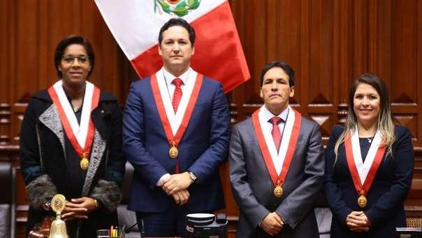 Chihuán, Salaverry, Tapia y Vilcatoma: los nuevos miembro de la Mesa Directiva del Congreso