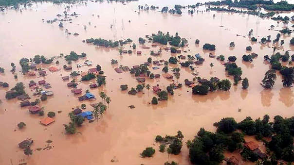 Laos presa