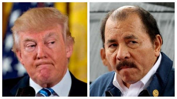 Donald Trump y Daniel Ortega