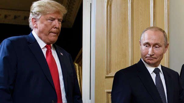 Putin, dispuesto a ir a Washington, invita a Trump a Moscú