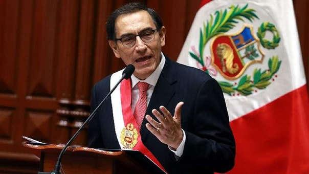 Presidente Vizcarra anuncia referéndum para reforma del CNM