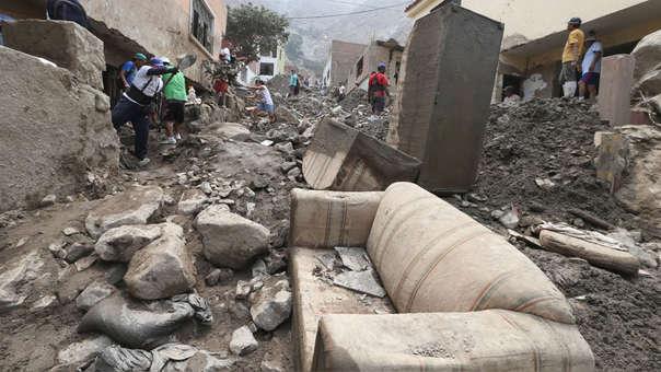 El Niño Costero dejó casi 60,000 vivienda inhabilitadas y afectadas.