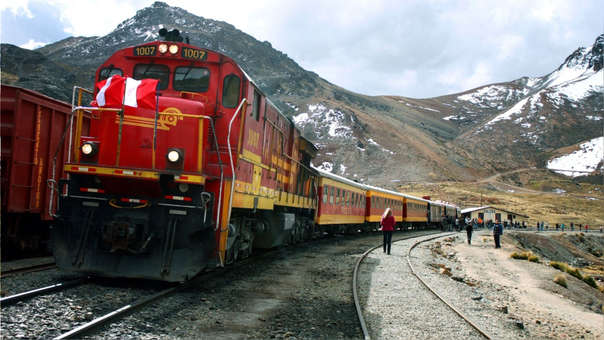 Plantea un tren de Trujillo a Chiclayo y otro de Lima a Ica.