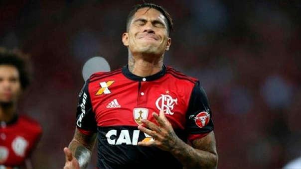 Paolo Guerrero ha marcado un gol en el 2018 con el Flamengo. Por su sanción solo ha podido jugar 371 minutos en el año.