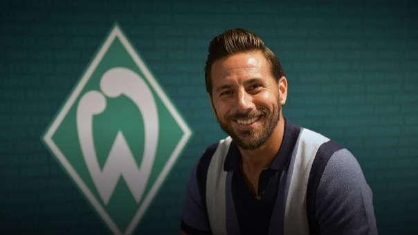 Pizarro es el máximo goleador extranjero de la Bundesliga con 192 goles.