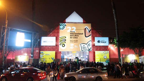 La Feria Internacional del Libro de Lima permanecerá con las puertas abiertas hasta el 5 de agosto.