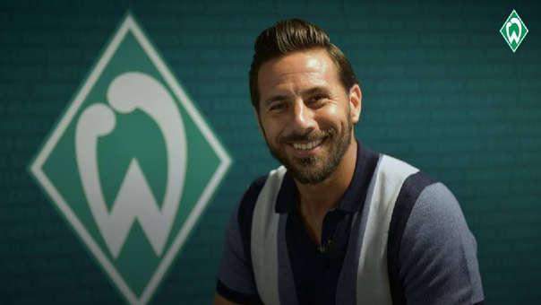 Werder Bremen fue el primer equipo europeo en donde jugó Claudio Pizarro.