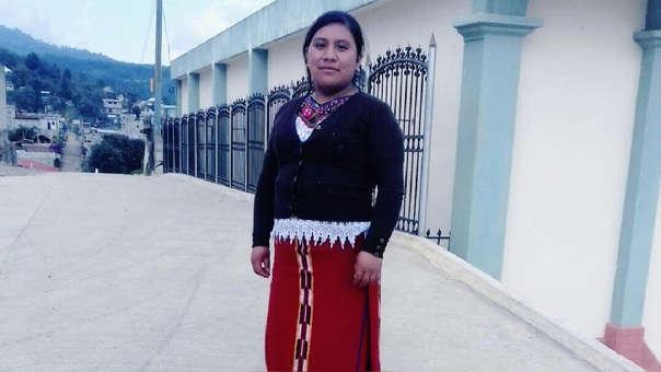 Juana Raymundo tenía 25 años y trabajaba como enfermera.