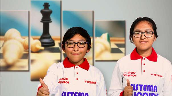 Diego Flores y Aleyla Hilario ya cosechan triunfos.