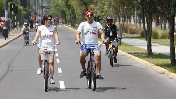 Congresista fujimorista planteó un proyecto de ley para incentivar el uso de bicicletas.