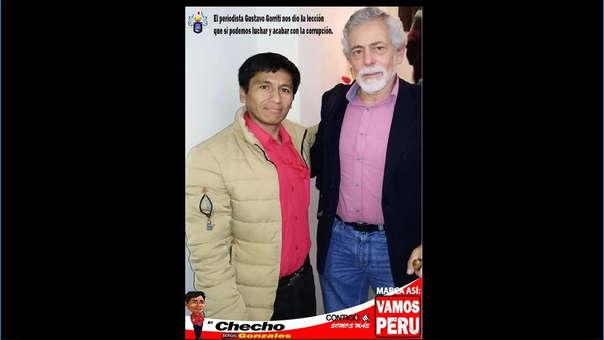 Usan imagen de Gustavo Gorrito en campaña electoral
