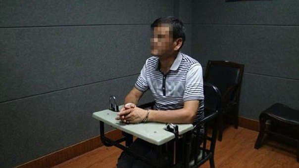 Liu Yongbiao ya era conocido como novelista al momento de su captura.