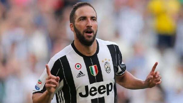 Gonzalo Higuaín llegó a la Juventus en el 2016, procedente del Napoli.