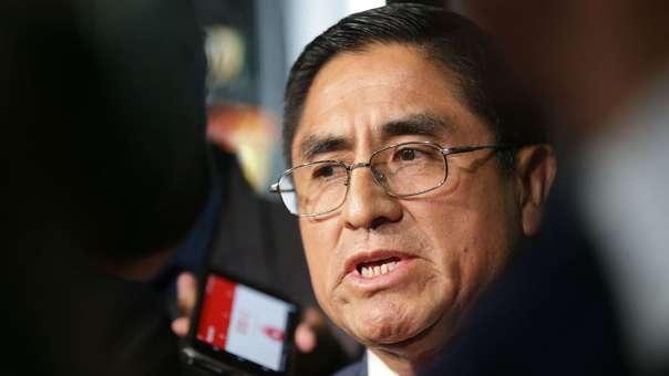 Según su interlocutor, César Hinostroza tenía interés en llegar a la presidencia del Poder Judicial.