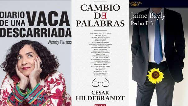 Estos son algunos de las obras más vendidas de la Feria del Libro.