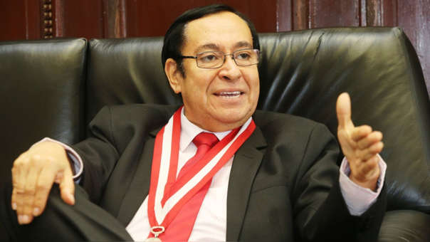 Víctor Prado Saldarriaga brindó un Mensaje a la Nación este viernes.