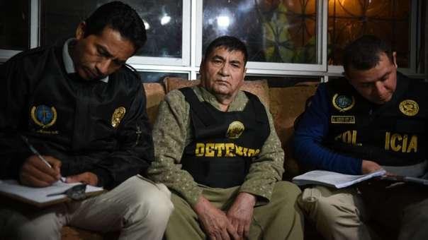 Elías Cuba fue detenido esta madrugada en un operativo contra organización criminal 'Los Intocables Ediles'.