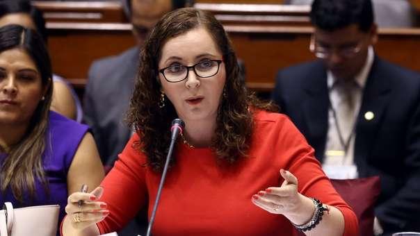 Rosa Bartra se refirió a la situación del Ministerio Público.