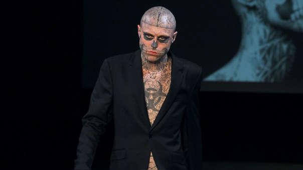 'Zombie Boy' tenía 32 años y era asiduo participante en pasarelas de moda.