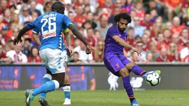 Mohamed Salah jugó en la Fiorentina junto a Juan Manuel Vargas en la temporada 2014/2015.
