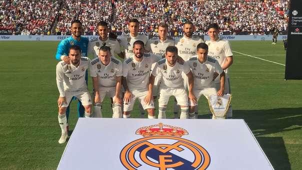 Real Madrid perdió su primer partido de pretemporada ante el Manchester United.