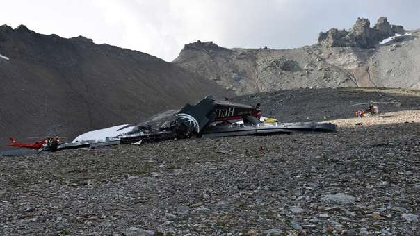 SWITZERLAND ACCIDENTS FLIMS PLANE CRASH