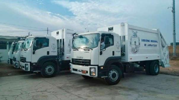 Gobierno Regional entregará 10 compactadoras a José Leonardo Ortiz