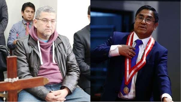 Walter Ríos y César Hinostroza
