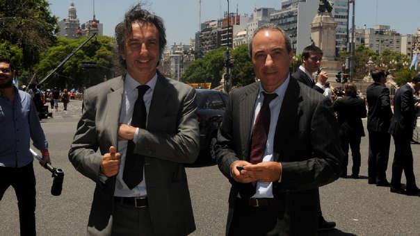 Angelo Calcaterra, a la izquierda, en una foto de 2016.