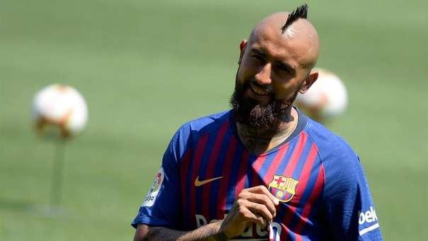 Arturo Vidal llegó al Barcelona por 20 millones de euros.