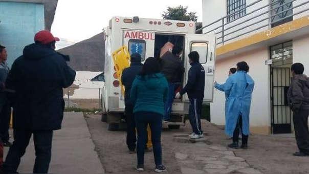 La ministra indicó que cuatro personas se encuentran graves, dos de ellas son niños.