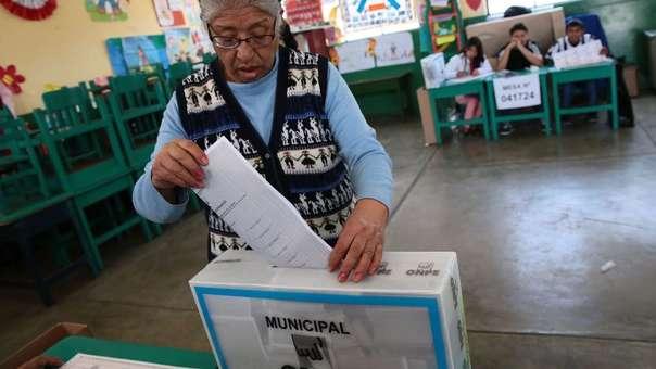 Las próximas elecciones municipales y regionales serán el domingo 7 de octubre.