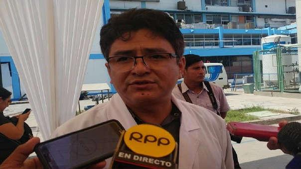 Gerente regional de EsSalud, Juan Rodríguez