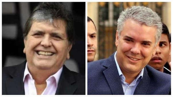 Alan García e Iván Duque