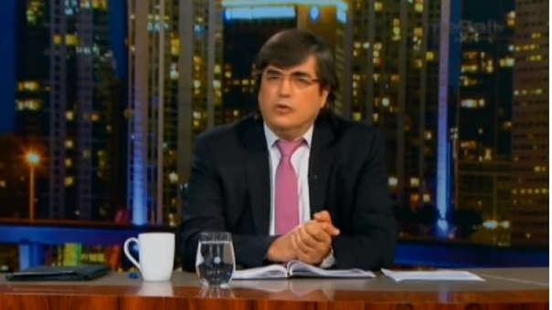 Jaime Bayly respondió a Maduro en su programa de televisión en Miami.