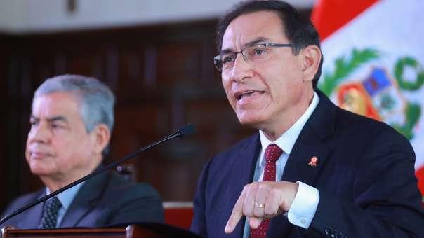 La popularidad de Martín Vizcarra subió diez puntos tras su discurso de 28 de julio, según Datum.