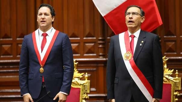 Vizcarra se refirió a las críticas de Daniel Salaverry.