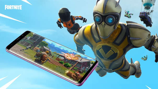 Fortnite en Samsung