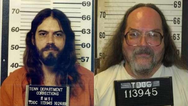 Billy Ray Irick, décadas y meses antes de su ejecución.