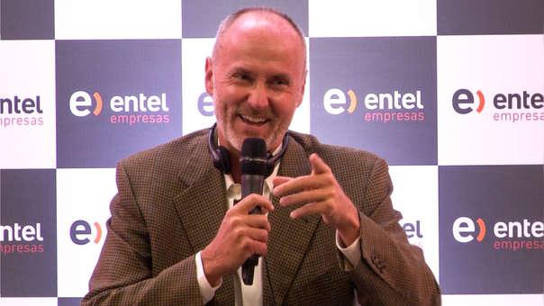 Es la cuarta vez que el empresario hotelero llega al Perú para una charla con emprendedores y empresarios.