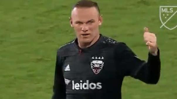 Wayne Rooney llegó a la MLS esta temporada proveniente del Everton.