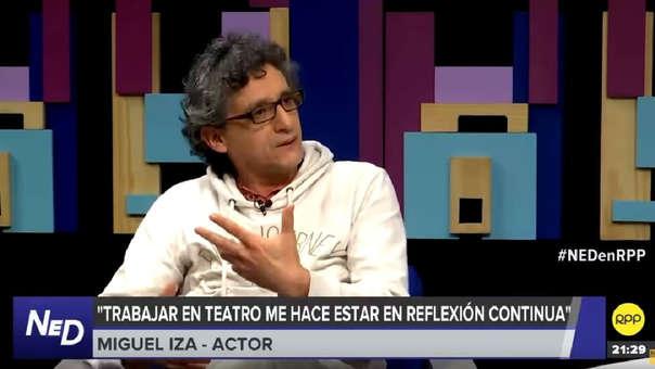 Miguel Iza conversó con Renato Cisneros en