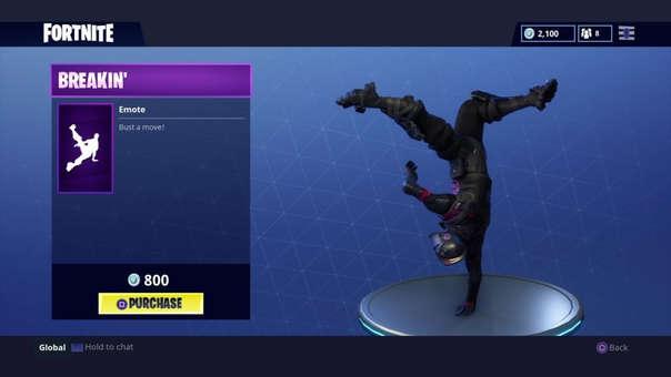 Los bailes de Fortnite están inspirados en los usuarios y eventos reales