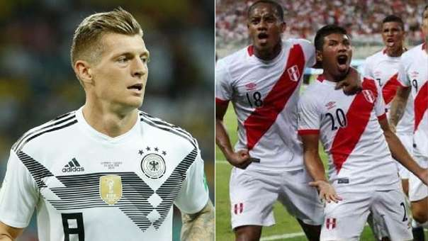 Perú vs. Alemania