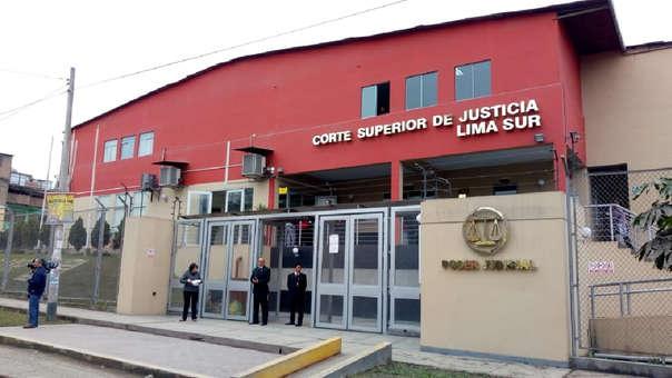 Corte Superior de Justicia Lima Sur.