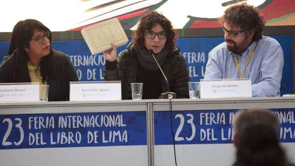 José Carlos Agüero es asiduo participante en la Feria del Libro de Lima.