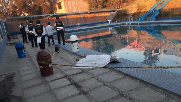 Levantan cádaver de joven ahogado en piscina