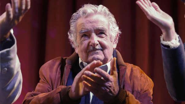 Mujica durante un foro en Argentina la semana pasada.